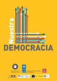 Nuestra democracia.pdf - Programa de las Naciones Unidas para el ...