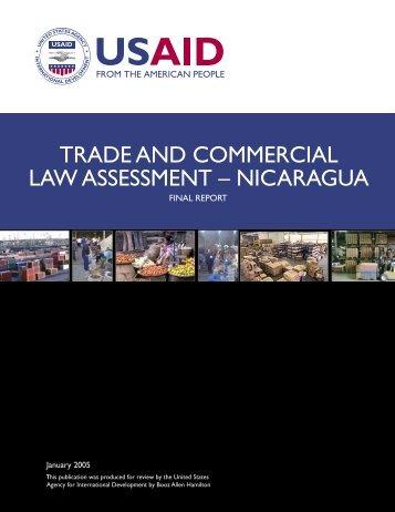 Nicaragua BizClir Report - Economic Growth - usaid