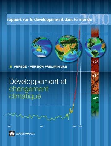 Développement et changement climatique