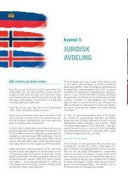 Kapittel 5: Juridisk avdeling - EFTA Surveillance Authority