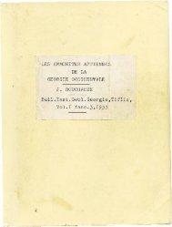 LES AMMONITES APTIENNES DE LA GEORGIE OCCIDENTALE J ...