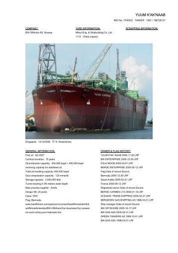 YUUM K'AK'NAAB - Cargo Vessels International
