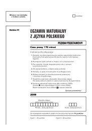 Polski, 2008, Przykładowa, ark 7 - Matura 2010