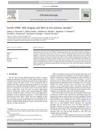 Gentle STEM ADF imaging and EELS at low primary energies