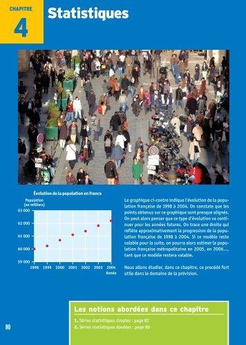 Statistiques - Editis