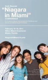 Niagara in Miami - College of Arts & Sciences - Florida International ...