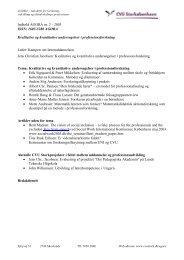 Kvalitative og kvantitative undersøgelser