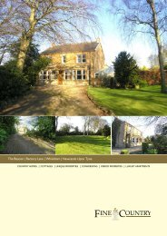 The Beacon | Rectory Lane | Whickham | Newcastle ... - Fine & Country