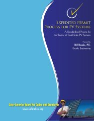 Expedited Permit Process for PV Systems - Brooks Engineering