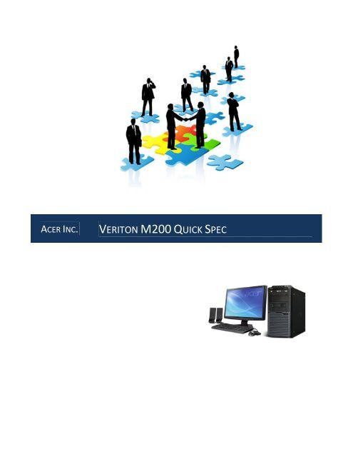 Acer Veriton M200-A78 Driver FREE