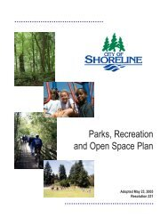 Parks, Recreation and Open Space Plan