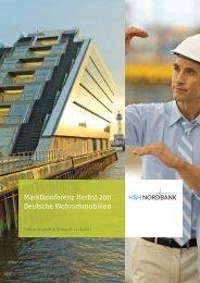 Marktbericht Deutschland Herbst 2011 HSH Nordbank
