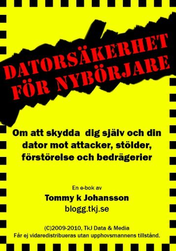 Botnäten som kontrollerar din dator - TkJ.se