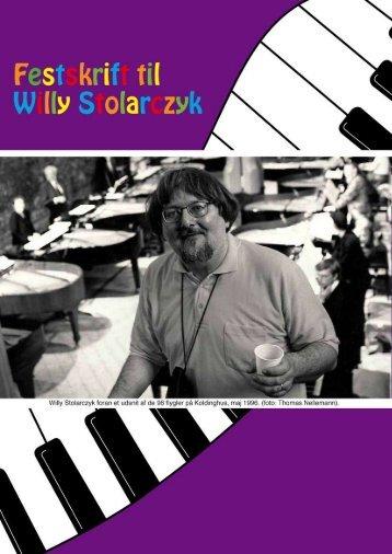 Festskrift (pdf) - willy stolarczyk