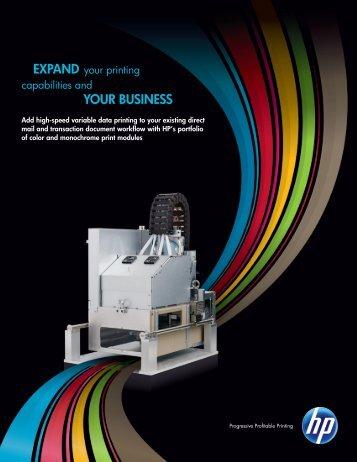 HP Print Modules Brochure (PDF)