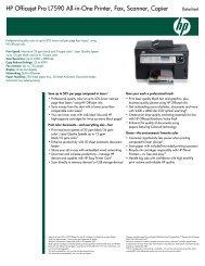 HP Officejet Pro L7590 All-in-One Printer, Fax, Scanner, Copier ...