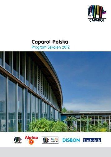 Program Szkoleń 2012 - Caparol