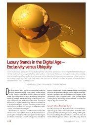 Luxury Brands in the Digital Age – Exclusivity versus Ubiquity