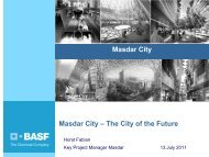 About Masdar City Sustainable Supply Chain for ... - Alive2green