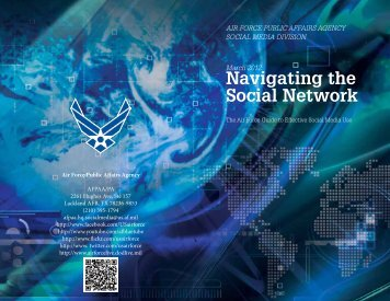 Navigating the Social Network - Air Force Reserve Command