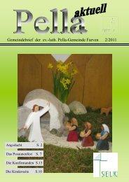 Gemeindebrief der ev.-luth. Pella-Gemeinde Farven 2/2011