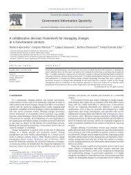 A Collaborative Ontology-based Framework for Managing Changes ...