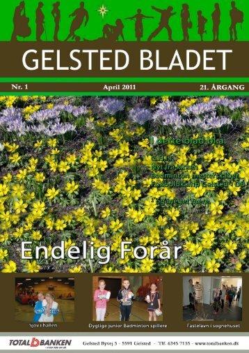 Information om optagelse af artikler - GelstedBladet