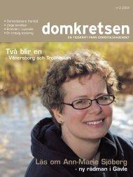 Domkretsen nummer 2 2004 - Sveriges Domstolar
