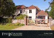 Montague Cottage Purbrook Heath | Hampshire - Fine & Country