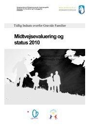 Midtvejsevaluering 2010 Tidlig Indsats - paarisa