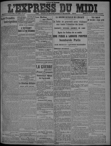 Contre le Front Britannique - Bibliothèque de Toulouse