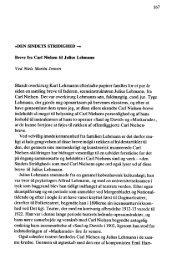 ~DEN SINDETS STRIDIGHED - Ved Niels Martin Jensen