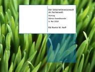 Der Unternehmensanwalt als Fachanwalt RA Martin W. Huff - Kölner ...