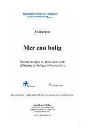 Rapport 2011 - Borgestadklinikken