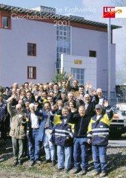 Liechtensteinische Kraftwerke Geschäftsbericht 2001