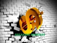 BREAKING BARRIERS - AIMS