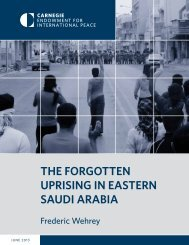 The ForgoTTen Uprising in easTern saUdi arabia - Carnegie ...