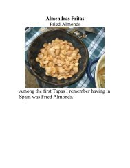 Almendras Fritas - The Geriatric Gourmet