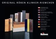 Riemchen international Maerz 2013.pdf - Röben Tonbaustoffe GmbH