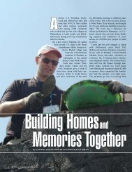 Building Homes and Memories Together