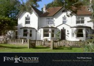 The White House Purbrook Heath Road | Purbrook ... - Fine & Country