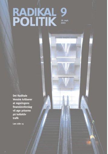 Radikal Politik - Radikale Venstre