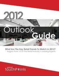 What Are The Key Retail Trends To Watch In 2012? - Texas Tech ...