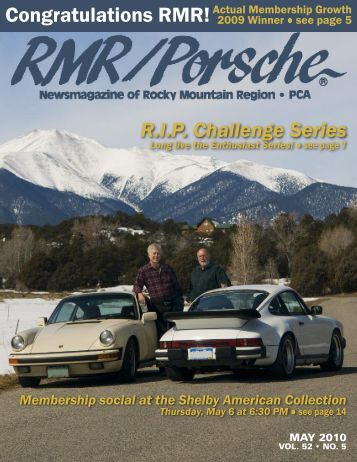 Congratulations RMR! - Rocky Mountain Region Porsche Club ...