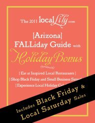 FALLiday Guide - Local Lily
