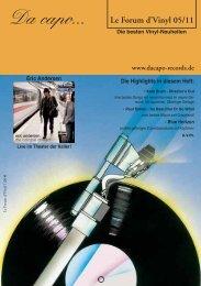 Le Forum d´Vinyl Ausgabe Mai 2011 - Da capo