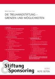 Rote Seiten - Stifterverband für die Deutsche Wissenschaft