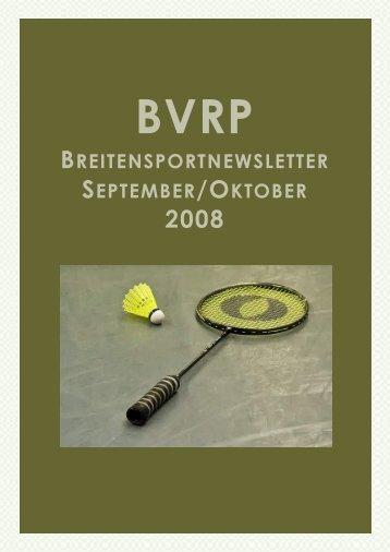 bvrp breitensportnewsletter september /oktober 2008