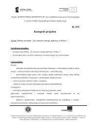 Debata na temat: ?Za i przeciw energii j?drowej w Polsce ?.