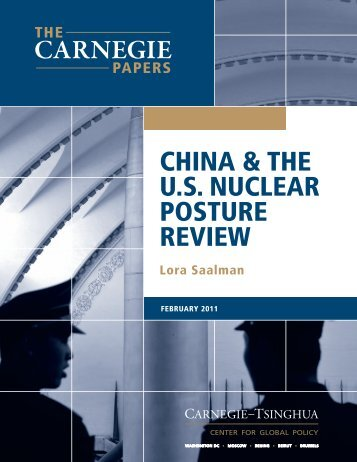 China and the U.S. Nuclear Posture Review - Carnegie Endowment ...